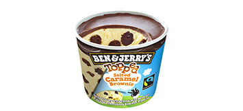 Produktbild Ben & Jerry's - Topped Salted Caramel Brownie